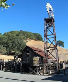 California -- Contra Costa County -- Walnut Creek -- Old Borges Ranch (built 1899)