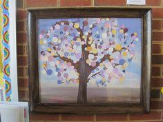 Paint Chip Tree