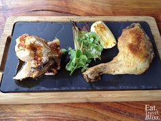 Berkelouw Kitchen - chicken breast and maryland served with fennel and parmesan gratin and thyme jus