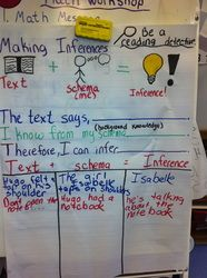 Making Inferences-idea from Pinterst using Hugo Cabbaret