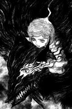 Berserk manga by Kentaro Miura.