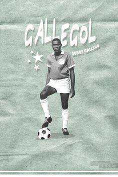 Deportivo Cali - Gallegool Soccer, Baseball Cards, Dark Walls, Sports, Futbol, European Football, European Soccer, Football, Soccer Ball