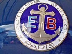 77 Ballot Automobiles Badge