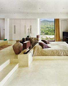 World of #Architecture: #Ibiza Dream #Home by Jaime Serra, #Spain   #worldofarchi #house #modern #bedroom