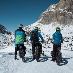 Things we like to do in Winter: Fatbiking in Cortina D'Ampezzo! Fat Bike, Mountain S, Alps, Italy, World, Winter, Instagram Posts, Outdoor, Winter Time