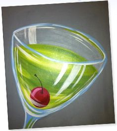 Paint N Cheers in OKC: learn how to do acrylic painting (keep yours) and have some wine with your art.