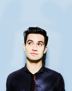 """::BRENDON URIE:: """"Hey, I'm Brendon. I'm close friends with Patrick, Hayley, and Alex. I don't know many people around here. Don't be afraid to say hi, I don't bite!"""""""