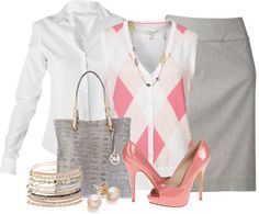 """""""Argyle Sweater Vest"""" by brendariley-1 ❤ liked on Polyvore"""
