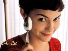 directed by Jean-Pierre Jeunet / starring Audrey Tautou, Mathieu Kassovitz My favourite Paris movies , Amelie is a young, naive, int. Audrey Tautou, Great Romantic Comedies, Romantic Movies, Most Romantic, Cinema Video, Short Bangs, Choppy Bangs, Fringe Bangs, Short Fringe