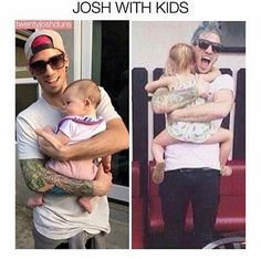 Awww>>> Oh my josh, he looks so happy! He is going to be the most incredible dad someday.