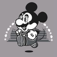 Mickooki T-Shirt $12.99 Mickey Mouse tee at Pop Up Tee!