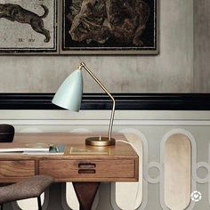 In my new bijou city flat I've decided to use some mid century design classics. I've got my eye on this @gubiofficial Gräshoppa lamp which was designed by Greta Grossman in the 1940's. .  Screenshot or 'like' this pic to shop the product details from the new LIKEtoKNOW.it app available now from the App Store! http://liketk.it/2r3ug #liketkit @liketoknow.it #LTKHome @liketoknow.it.home