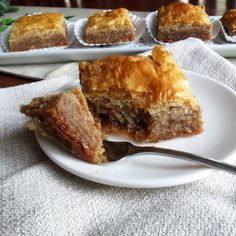 Absolutely Amazing Baklava a special Christmas treat.
