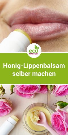 The sweet lip balm on a natural basis protects the lips from dryness . - The sweet lip balm on a natural basis protects the lips from dryness and can be used preventively a - Natural Make Up, Natural Skin Care, Lip Care, Body Care, Diy Beauty, Beauty Skin, Beauty Hacks, Lip Scrubs, Diy Skin Care