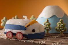 0系新幹線(H1編成)ケーキ」