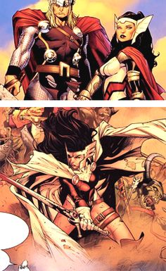 Thor & Lady Sif