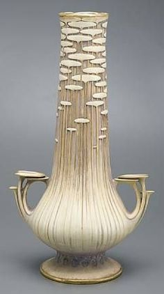 Startlingly modern Austrian Secessionist - Leigh ** Paul Dachsel, Amphora vase