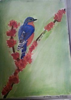 watercolor Lydia Sutton