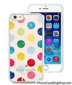 iPhone 6 4.7 inch Kate Spade White 017 screen TPU cover case unique and fashion design