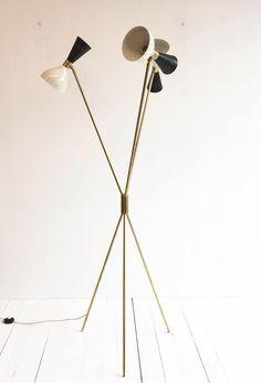 Vintage Italian Trilogy Lamp 1