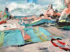 Abby M. Interiors: featuring paintings by Teil Duncan