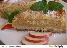 Šťavnatý jablečný koláč recept - TopRecepty.cz Vanilla Cake, French Toast, Cheesecake, Breakfast, Vanilla Sponge Cake, Morning Coffee, Cheesecakes, Morning Breakfast, Cheesecake Pie