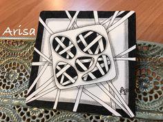 今日的禪繞練習 #zentangle #禪繞