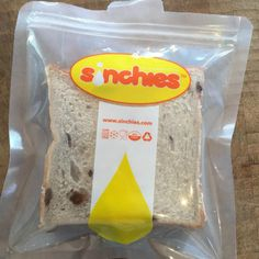 Sinchies Reusable Pouch Review - Mumma Plus Three - Sinchies reusable sandwich bags - fits standard size bought bread or homemade bread with the crusts cut off