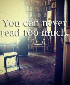 Ohh love xx Do you think it's even possible to read too much?  #readbooks #alwaysreading #lovetoread