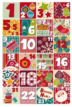 Comptez les jours avant Noël avec le calendrier de l'avent Babymoov : un cadeau chaque jour à gagner en répondant à une question avec l'aide de nos partenaires !