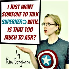 Looking for a Few Good Men by Kim Bongiorno on InThePowderRoom - When you have no guy friends but need to talk Marvel Comics, Avengers, X-Men, Star Wars, and other geek stuff.