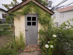 きよさんの庭のその他『DIYで作った庭小屋』(990-5)