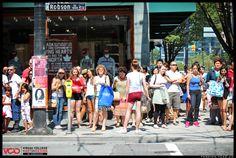 http://fashion.vcad.ca/    #streetshow #spectators #candidspectators