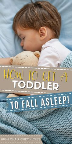 Need some toddler sleep help? Try this tip to get your toddler to fall asleep on their and learn how to fall asleep quickly. Use this for your toddler sleep training or for a toddler sleep regression. It's hard on everyone when a toddler won't sleep. Fix it fast with this mom to mom advice for how to get a toddler to sleep!