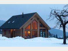 Bockhaus - #Einfamilienhaus von Rubner Haus AG | HausXXL #Blockhaus #Ökohaus