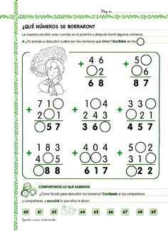 Archivo de álbumes Math 2, 1st Grade Math, Math Class, Mental Maths Worksheets, Malay Language, Math Practices, Word Work, Math Lessons, Mathematics