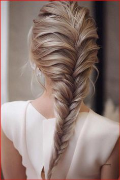Easy Hairstyles For Long Hair, Braids For Long Hair, Bride Hairstyles, Hairstyles Haircuts, School Hairstyles, Hairstyle For Long Hair, Medium Hair Braids, Braids Easy, Long Hairstyles