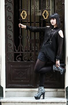 Nu goth style II | Flickr - Photo Sharing!