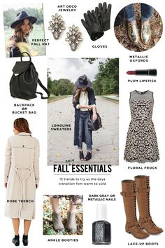 Fall 2014 Fashion Trends and Essentials #fall #fashion #theeverygirl