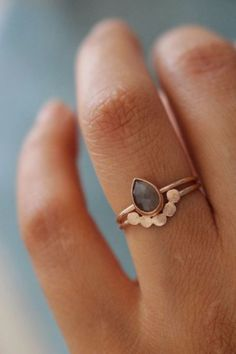 love this stacked ring set