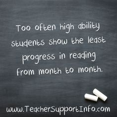 Too often high abili