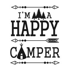 Travel Happy Camper Cuttable Svg Designs by CuttableSVG on Etsy