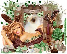 "MI RINCÓN GÓTICO: CT for CHERRY BLOSSOM DESIGNS, ""Chocolate Mint Valentine"""