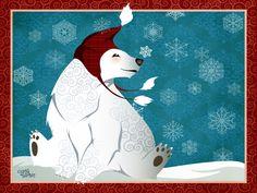 polar bear by flashparade.deviantart.com