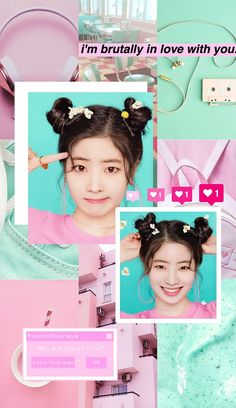 In love withthis beauty! Kpop Girl Groups, Korean Girl Groups, Kpop Girls, Cute Wallpaper Backgrounds, Cute Wallpapers, K Pop, Twice Wallpaper, What Is Love, My Love