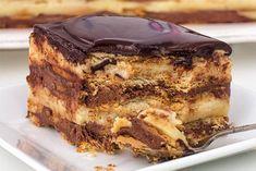 Bizcocho de galleta y chocolate con Thermomix - thermomix - Chocolate Flan, Chocolate Pastry, Chocolate Thermomix, Sweet Recipes, Cake Recipes, Dessert Recipes, Food Cakes, Cupcake Cakes, Chocolates