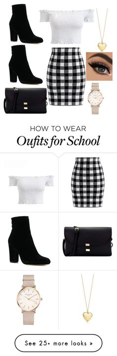 """School Girl"" by manijah200271 on Polyvore featuring Chicwish and ROSEFIELD"