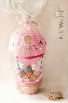 Lola Newborn Girl Baby Shower Bracelet Gift Christening Present Pink Gift Box