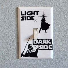 And this light switch: