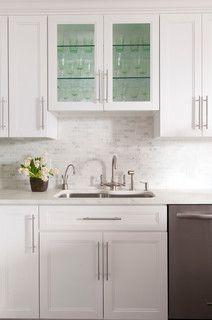 city chic - modern - kitchen - new york - by Jill Podell Interiors